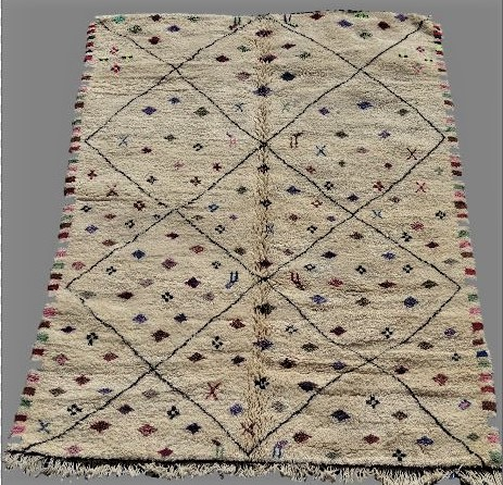 Referenssit Beni Ouarain moroccan rugs BO33121