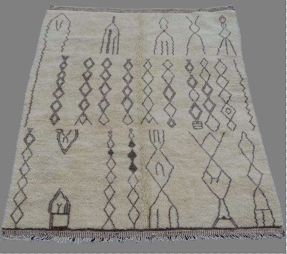 Archive-Sold Beni Ouarain moroccan rugs BO33005 PADI