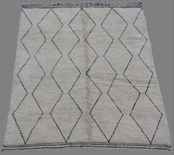 Referenssit Beni Ouarain moroccan rugs BO33006.