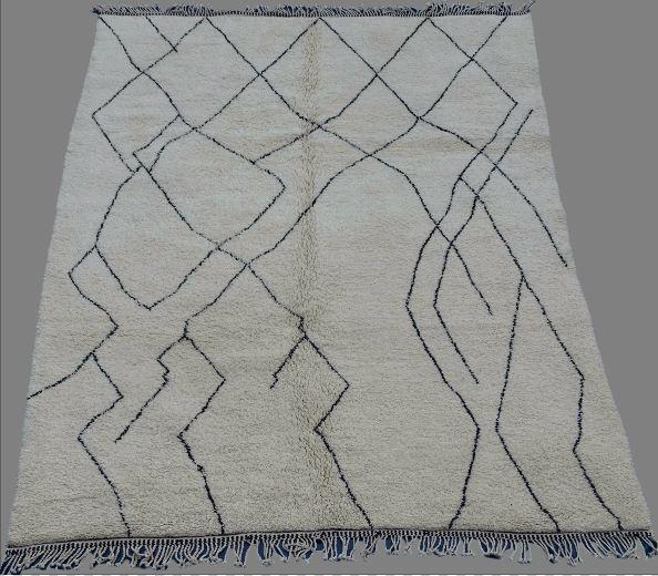 Archive-Sold Beni Ouarain moroccan rugs BO33007. au maroc