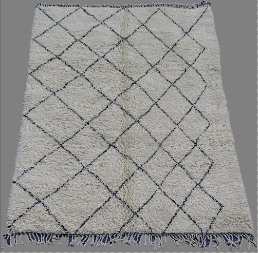 Archive-Sold Beni Ouarain moroccan rugs BO33008. secret berbere