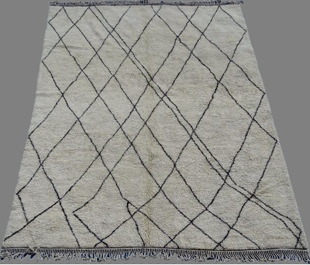 Archive-Sold Beni Ouarain moroccan rugs BO33010 jil custom made