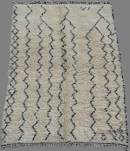 Archive-Sold Beni Ouarain moroccan rugs BO33013