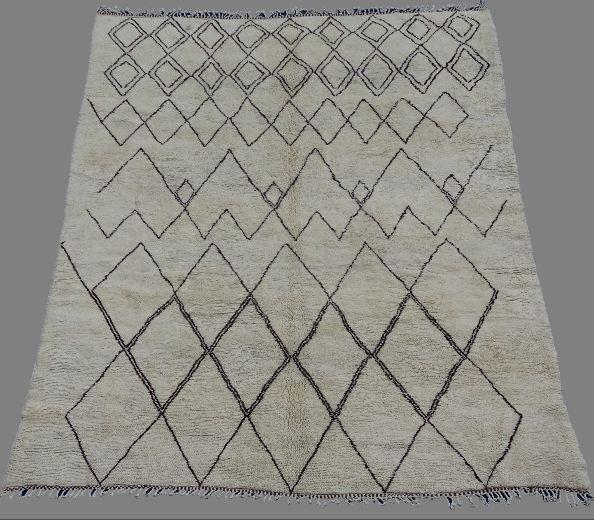Beni Ouarain  moroccan rugs BO33018. au maroc