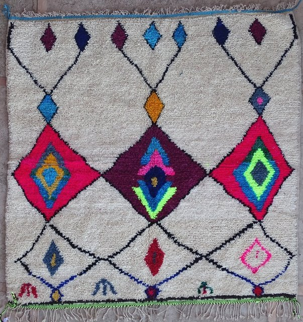 Archive-Sold Azilal and Ourika moroccan rugs AZ32197