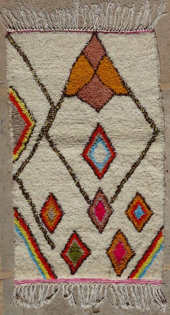 Azilal and Ourika  moroccan rugs AZ33287