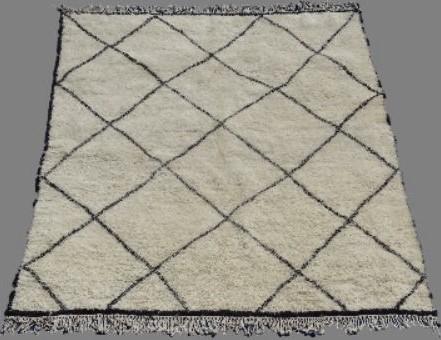 Referenssit Beni Ouarain moroccan rugs BO33319.