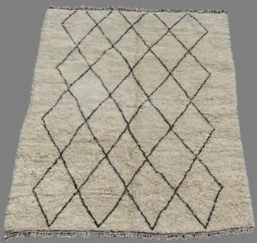 Referenssit Beni Ouarain moroccan rugs BO33330