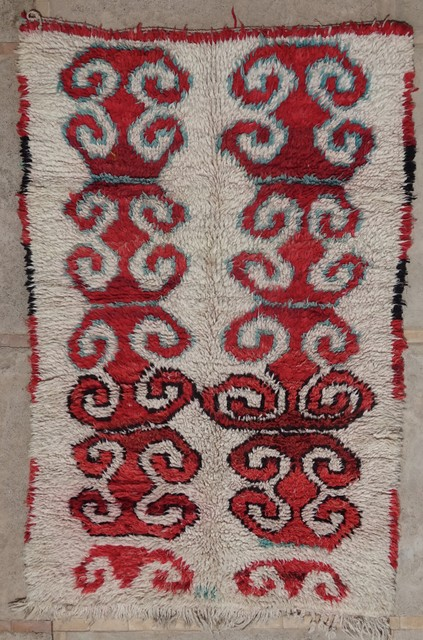 Archive-Sold Azilal and Ourika moroccan rugs AZ34121 armando DOZZA