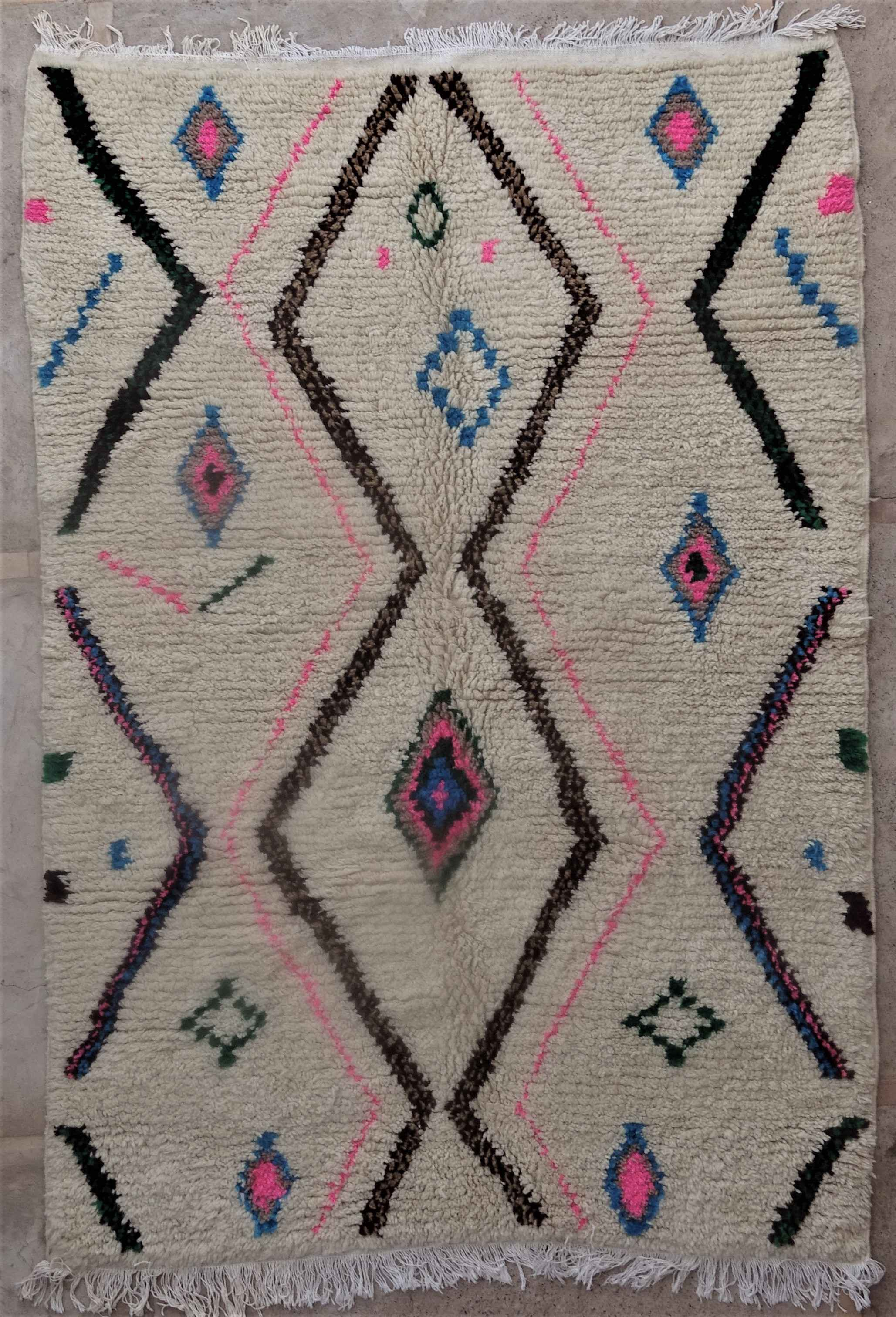 Referenssit Azilal and Ourika moroccan rugs AZ34171