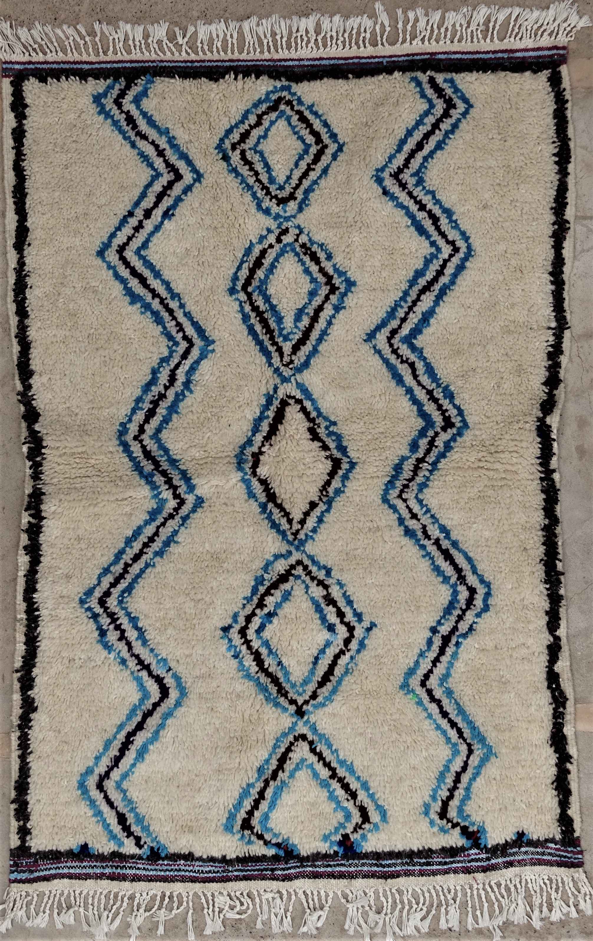 Archive-Sold Azilal and Ourika moroccan rugs AZ34198