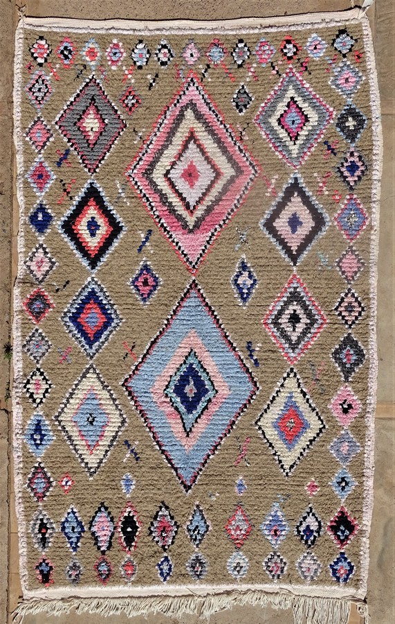 Archive-Sold Azilal and Ourika moroccan rugs AZ35062