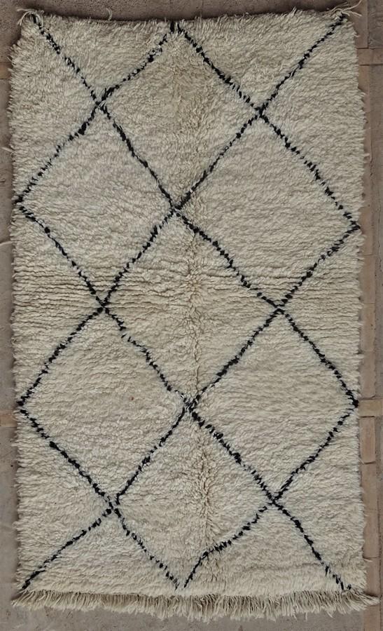 Archive-Sold Beni Ouarain moroccan rugs BO35095/MA
