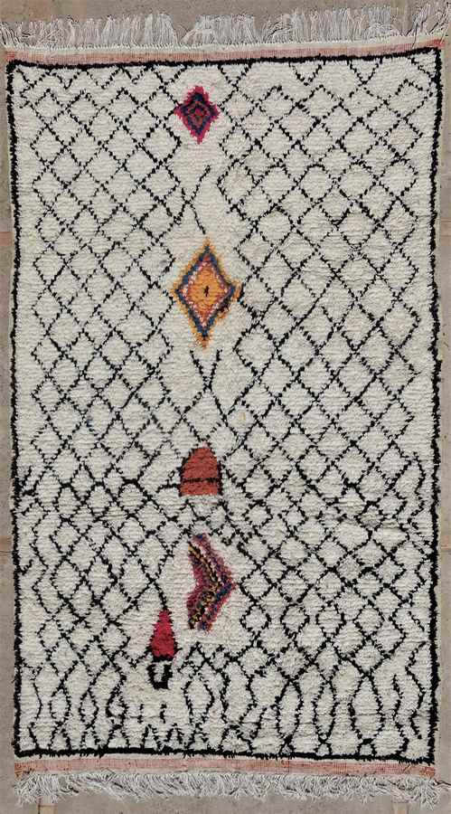 Referenssit Azilal and Ourika moroccan rugs AZ35147