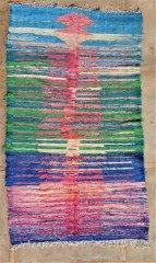 BOUCHEROUITE Boucherouite Kilims moroccan rugs KC35228