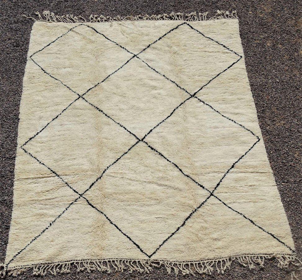 Referenssit Beni Ouarain moroccan rugs BO35250/MA reserved ART ORIENTAL