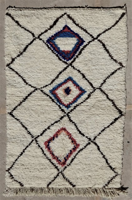 Archive-Sold Azilal and Ourika moroccan rugs AZ36111 CUVELIER
