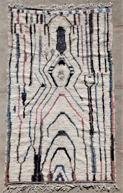 Archive-Sold Azilal and Ourika moroccan rugs AZ36184