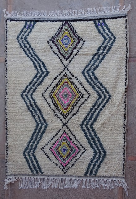 Archive-Sold Azilal and Ourika moroccan rugs AZ36232