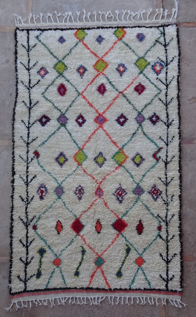 Archive-Sold Azilal and Ourika moroccan rugs AZ36250