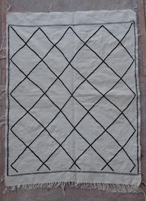 BOUCHEROUITE-KILIMS Boucherouite Small moroccan rugs TTKBO36252 kiim