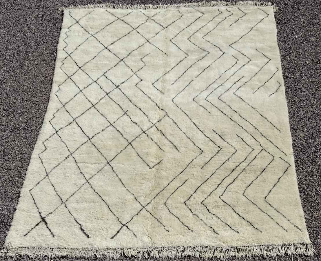 Referenssit Beni Ouarain moroccan rugs BO36318