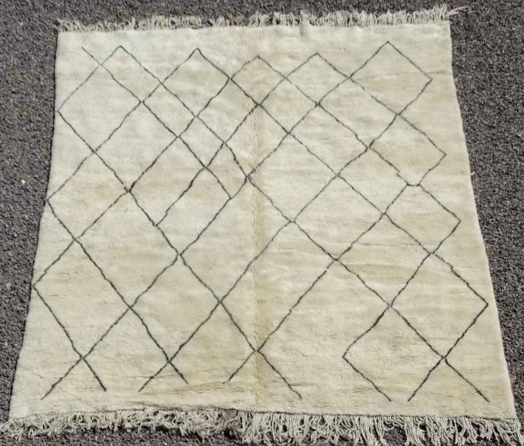 Referenssit Beni Ouarain moroccan rugs BO36319