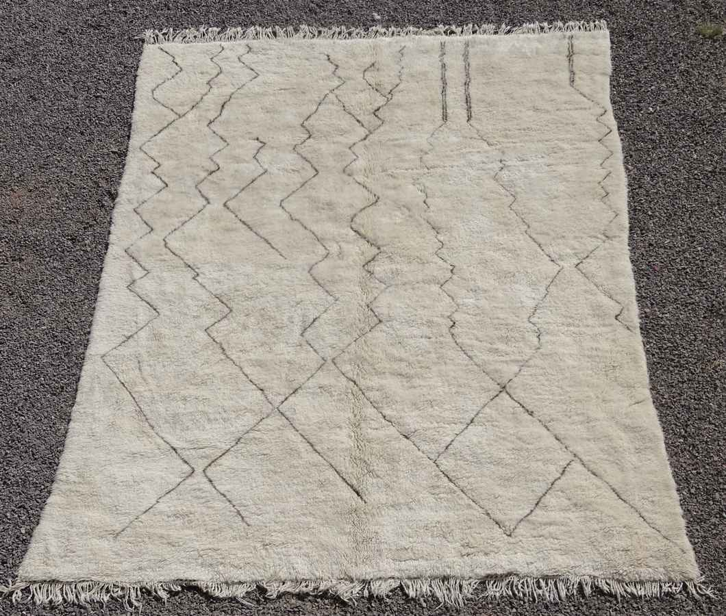 Referenssit Beni Ouarain moroccan rugs BO36305  Claire