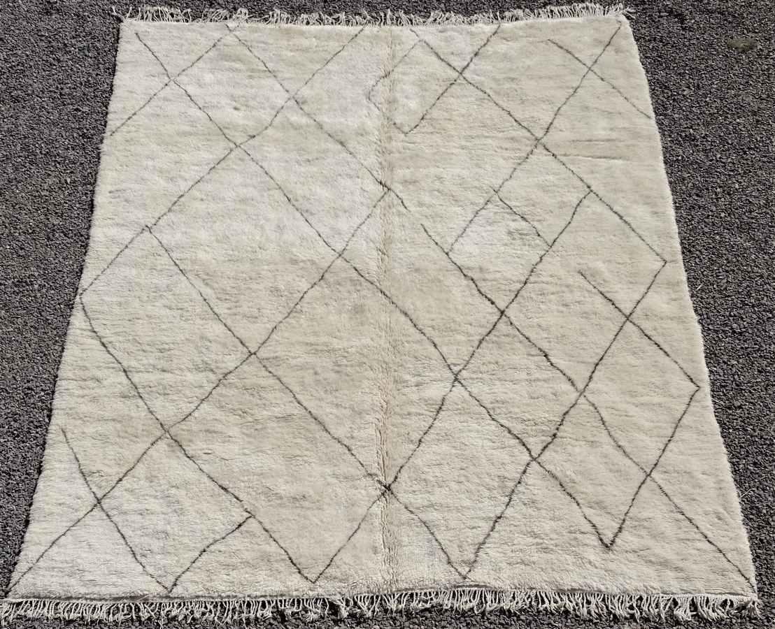 Archive-Sold Beni Ouarain moroccan rugs BO36309