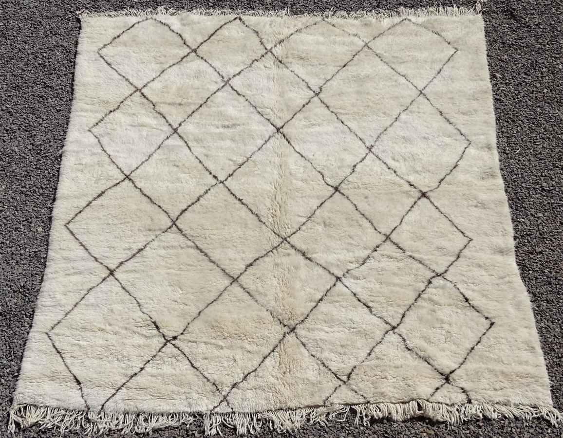 Archive-Sold Beni Ouarain moroccan rugs BO36311