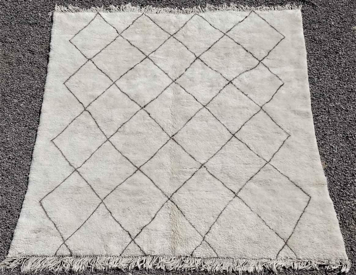 Archive-Sold Beni Ouarain moroccan rugs BO36315