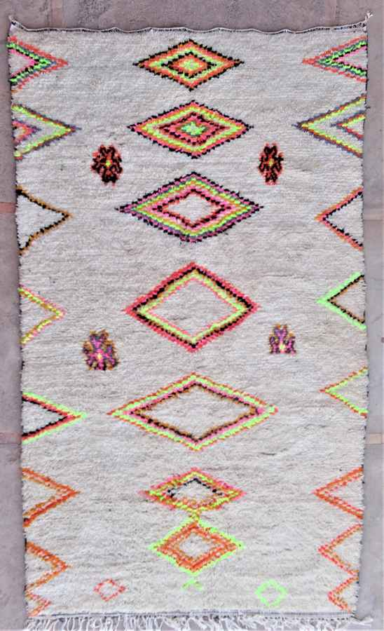 Archive-Sold Azilal and Ourika moroccan rugs AZ37027