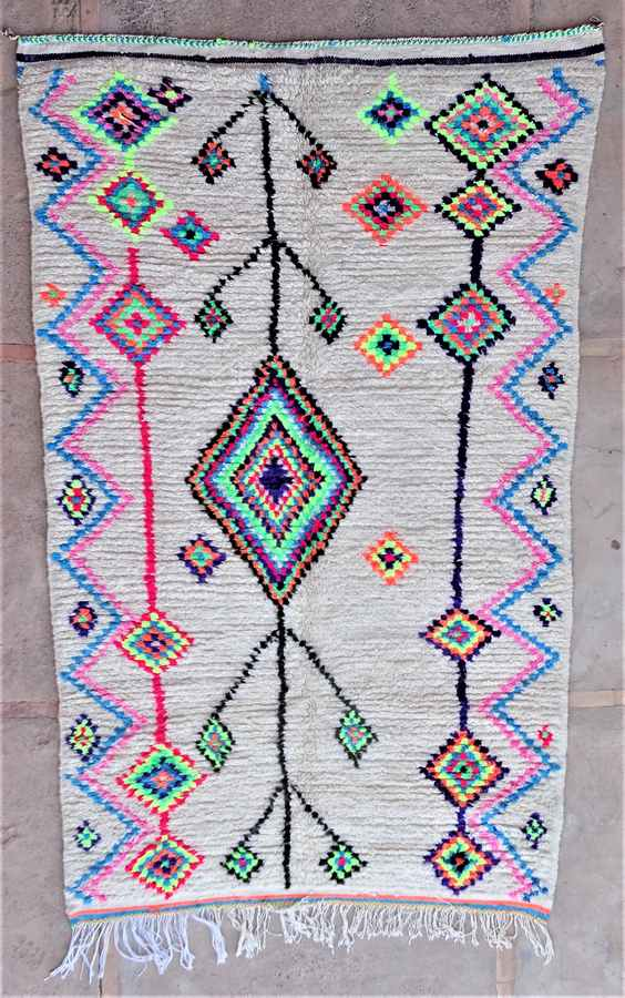 Archive-Sold Azilal and Ourika moroccan rugs AZ37038