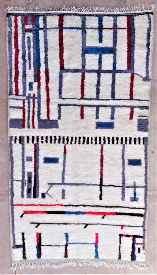 Archive-Sold Azilal and Ourika moroccan rugs AZ37074