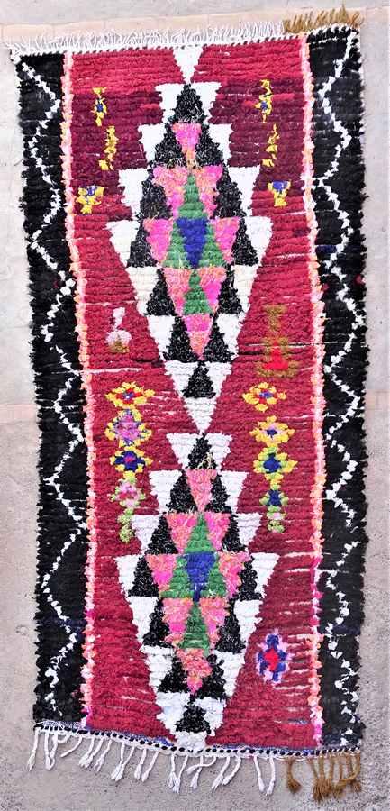 BOUCHEROUITE  moroccan rugs TT37058