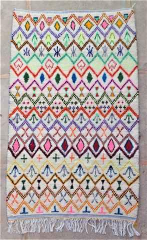 Azilal and Ourika  moroccan rugs AZ37135 Johanna Ribot