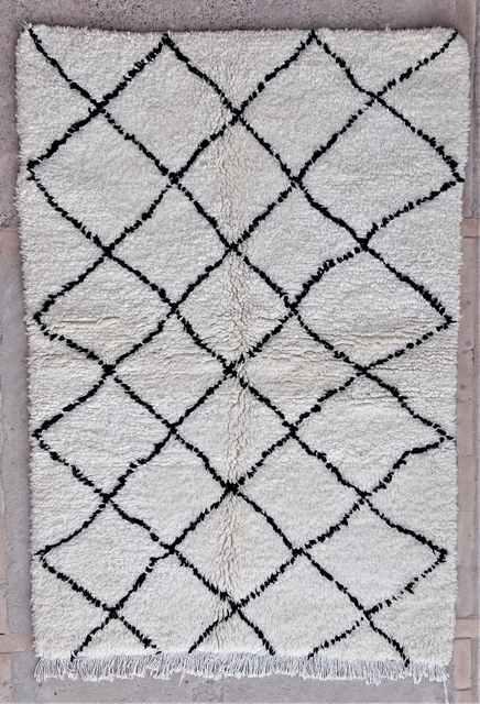 Referenssit Beni Ouarain moroccan rugs BO37216/MA
