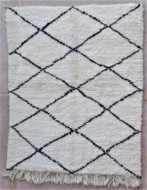 Archive-Sold Beni Ouarain moroccan rugs BO37224/MA