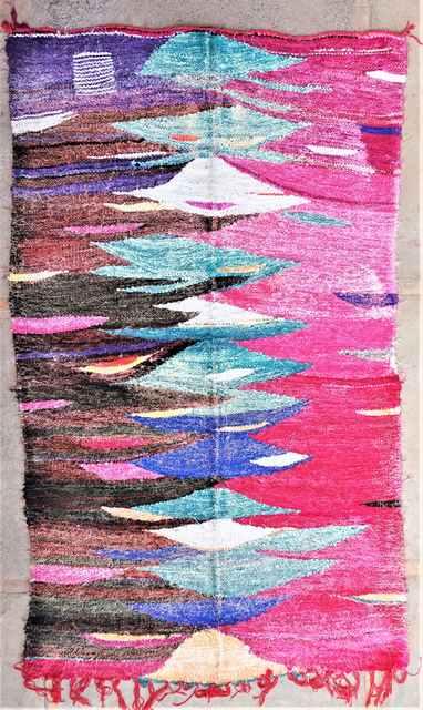 BOUCHEROUITE Boucherouite Kilims moroccan rugs KC37271