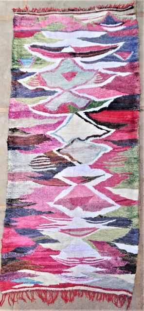 Boucherouite Large moroccan rugs KC37273