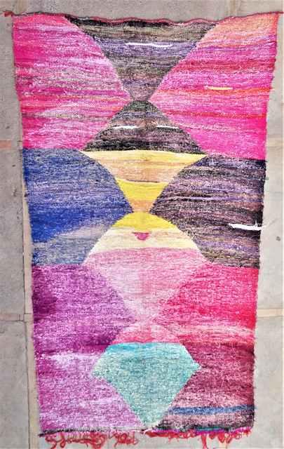 Boucherouite Kilims moroccan rugs KC37274