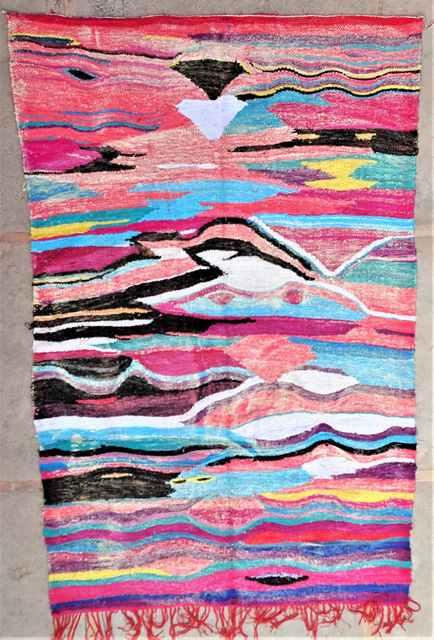 BOUCHEROUITE Boucherouite Kilims moroccan rugs KC37282