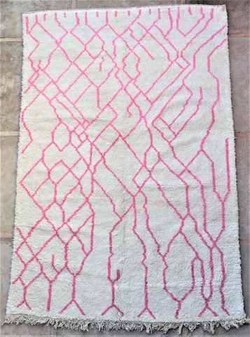 Referenssit Beni Ouarain moroccan rugs BO37298/MA reserved Karl Heinz