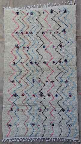 WOOL Rugs - BENI OURAIN Azilal and Ourika moroccan rugs AZ37314
