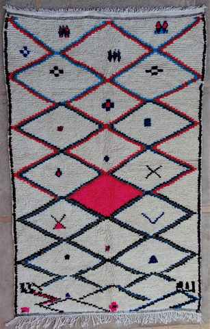 Archive-Sold Azilal and Ourika moroccan rugs AZ37337