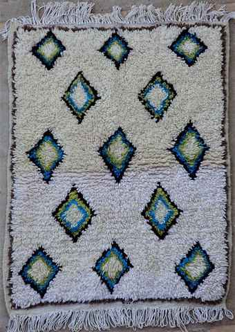 Referenssit Azilal and Ourika moroccan rugs AZ37348
