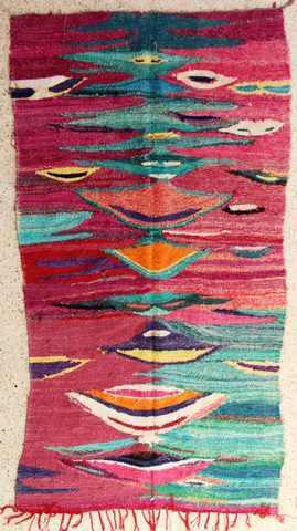 BOUCHEROUITE Boucherouite Kilims moroccan rugs KC28336