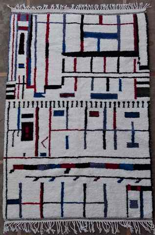 Archive-Sold Azilal and Ourika moroccan rugs AZ37402