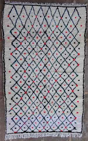 Archive-Sold Azilal and Ourika moroccan rugs AZ37409