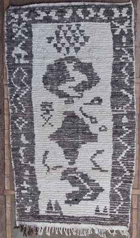 WOOL Rugs - BENI OURAIN Azilal and Ourika moroccan rugs AZ37417